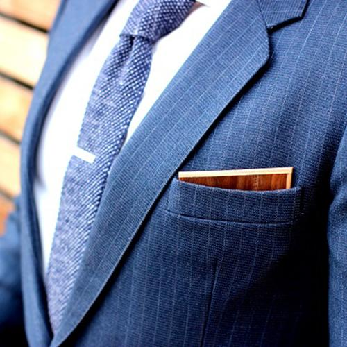 Wooden Pocket Square | Noce