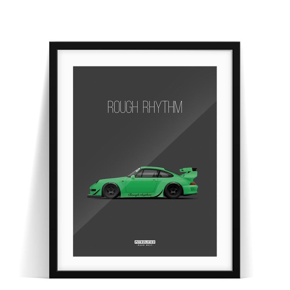 car prints, Rough Rhythm, luxury car art