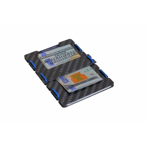 Ultra Carbon Fiber Wallet - Blue
