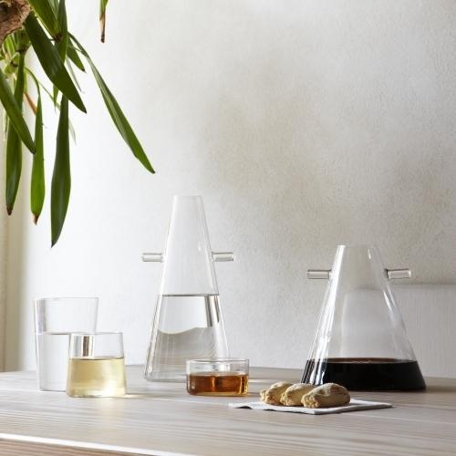 WWW Jug Transparent Blown-Glass   Atipico