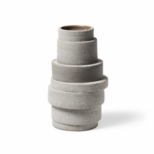 Pilla Ceramic Vase Clay-Brown   Atipico