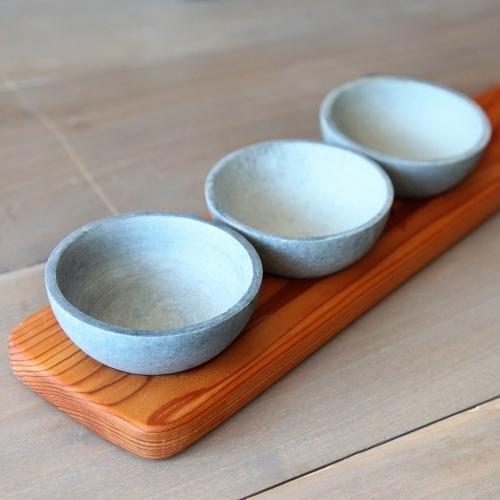 Wooden Condiment Trio, Sparq Home