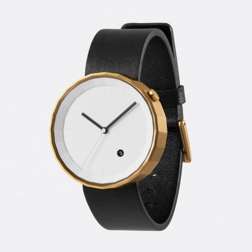 Polygon Watch, Black