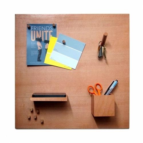 Smorgas - Wooden Magnetic Bulletin Board | iLoveHandles