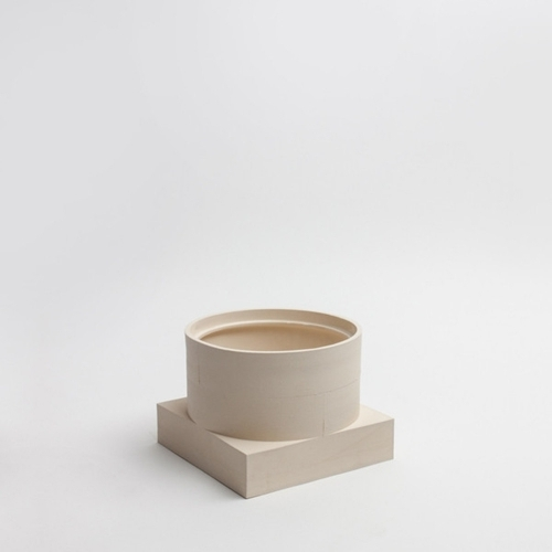 Short Utility Vase | Cream | Luur