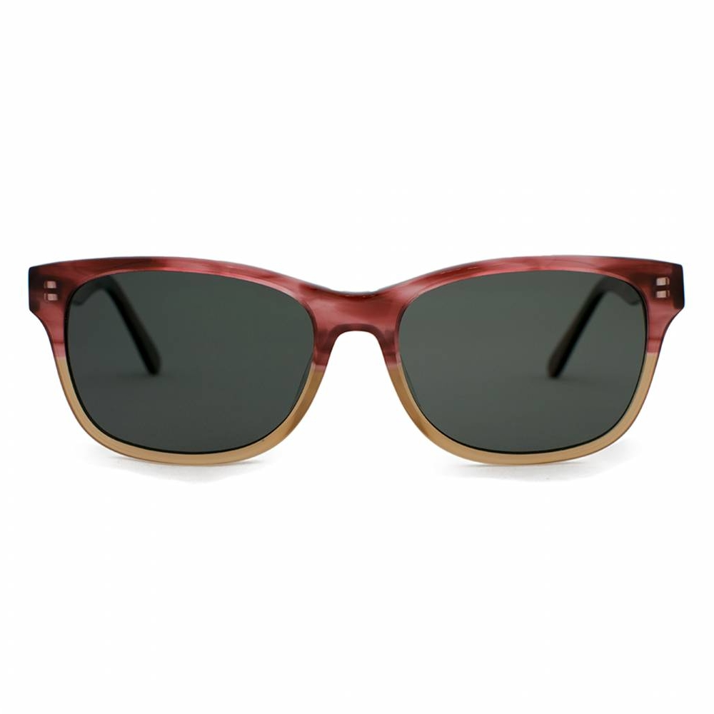 Windemere Cranberry & Tan Polarized Sunglasseses   Parkman