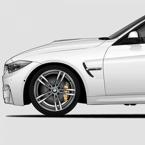 BMW M3 Generations Print, Unrivaled