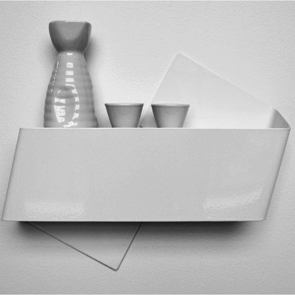 Zig Shelf, White, Tat Chao
