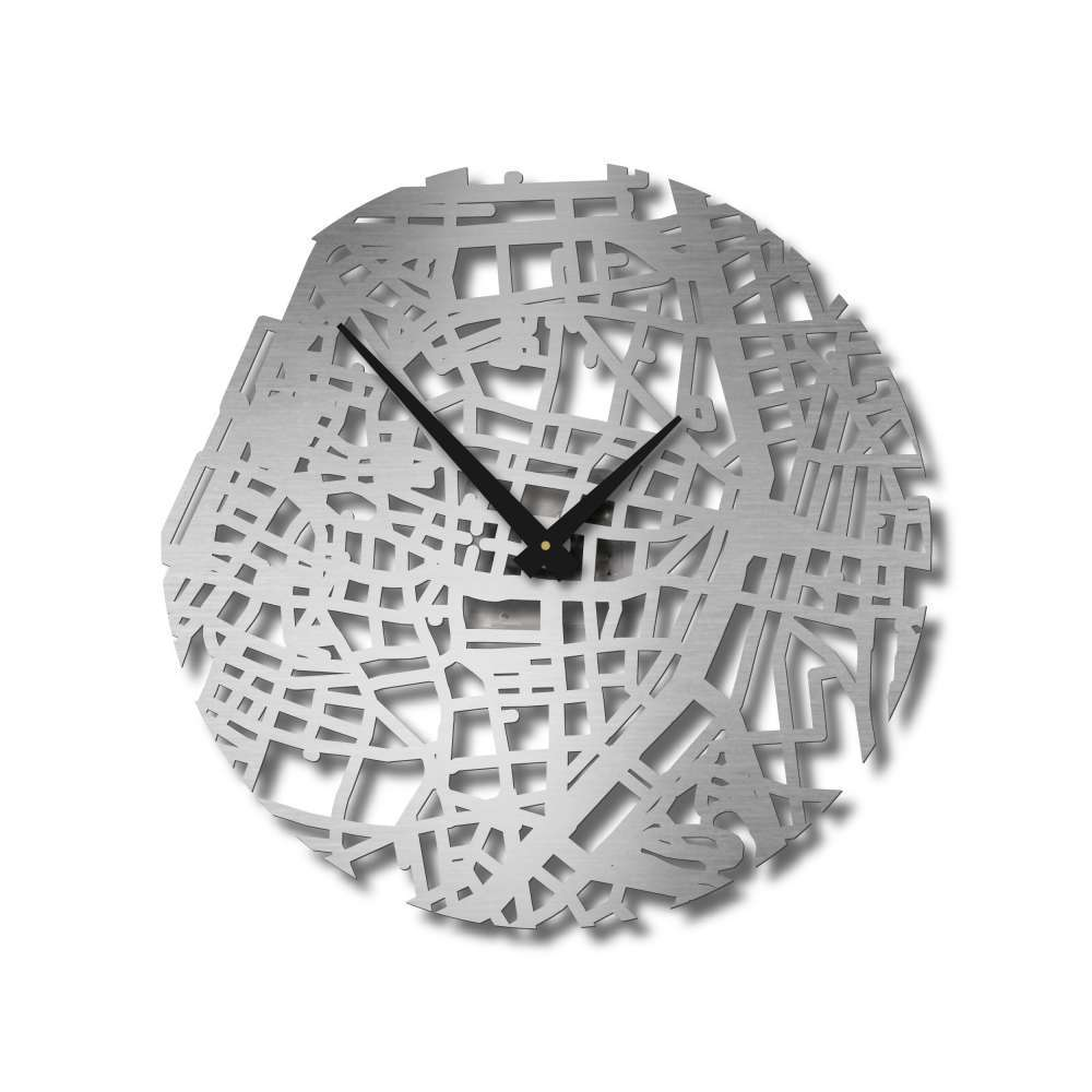 Stainless Steel  Wall Clock | Antwerp Clock | Urban Story
