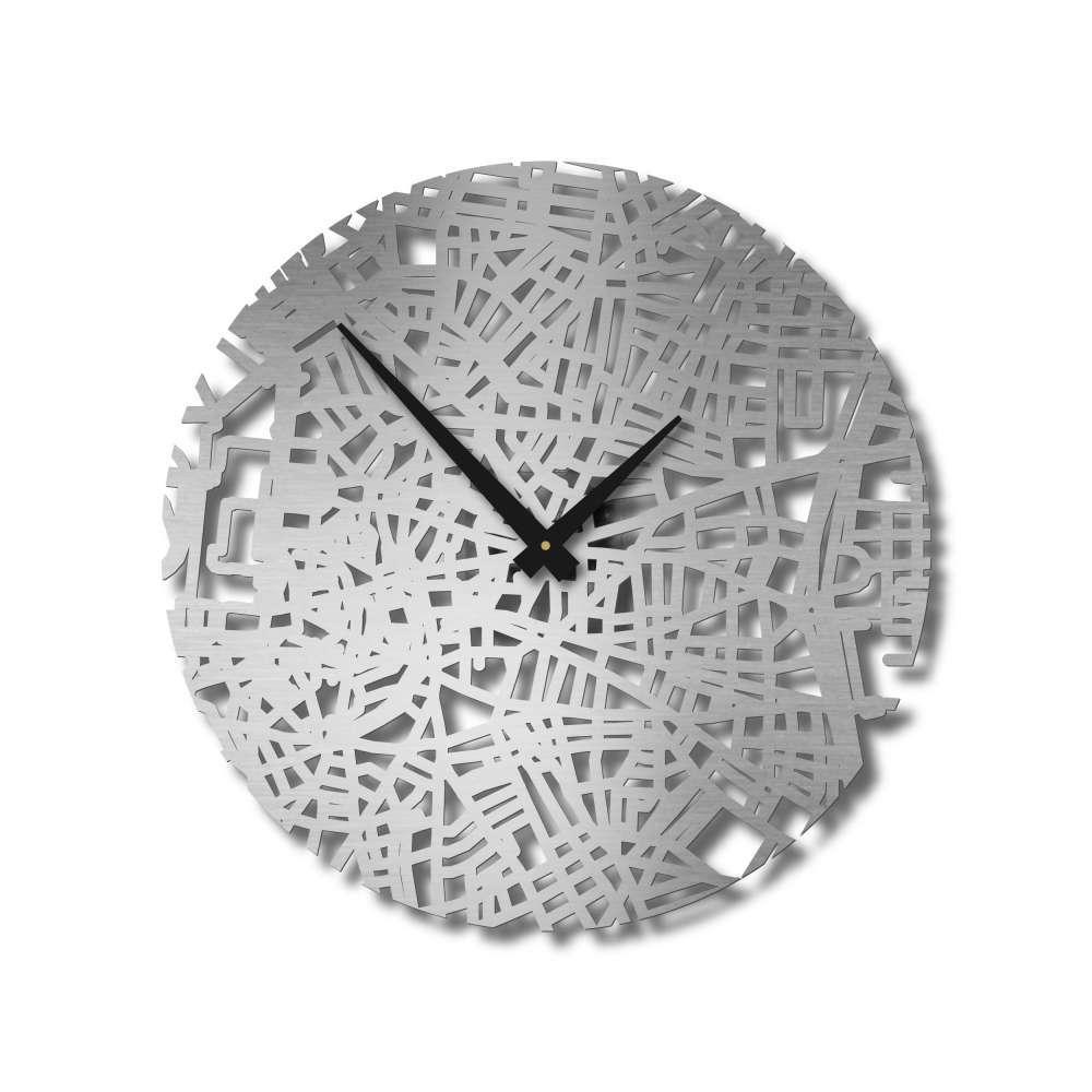 Handcrafted City Map Clocks   Madrid Clock   Urban Story