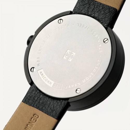 Series 000 Watch, Black & Yellow - A Fresh Take on Traditional Elegance