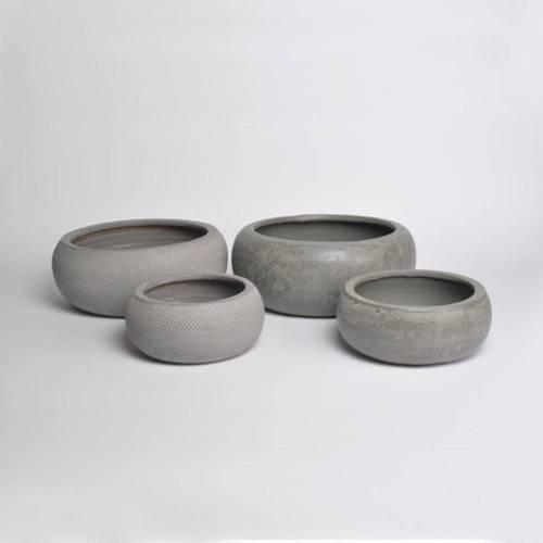 Micmac Bowl Set of 2, Grey