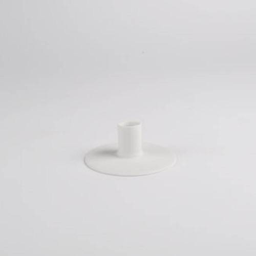 Zest Candle holder, White