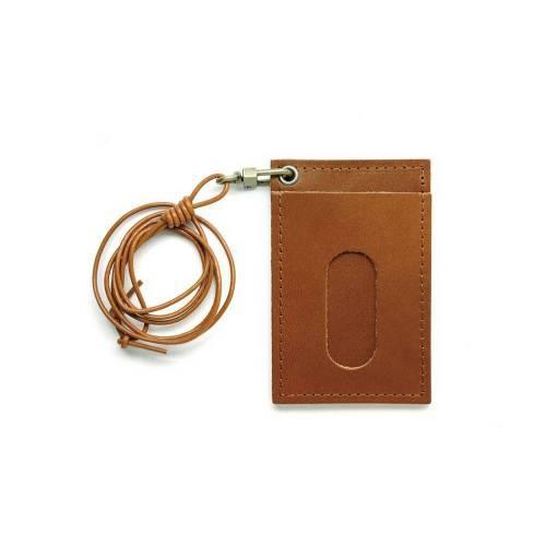 301 Cardholder Necklace - Leather Cardholder Necklace