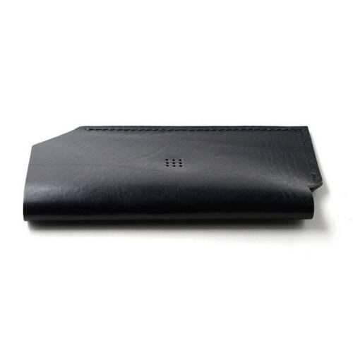 501 iPhone 6/6 PLUS Sleeve, Black - Leather iPhone Sleeve