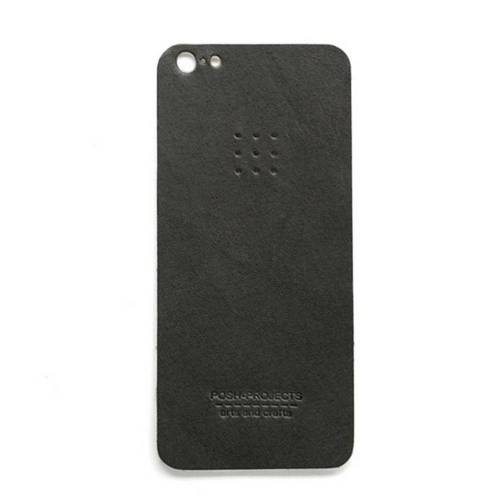 503 iPhone 5 Leather Skin, Charcoal