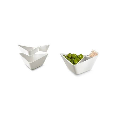 Nut + Olive Bowl -  Ingenious Sculptural Bowl
