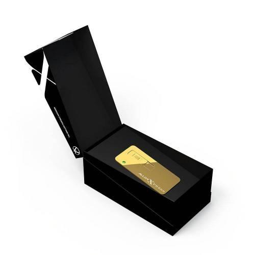 Xpress, Gold Finish - Allor Vaporizers