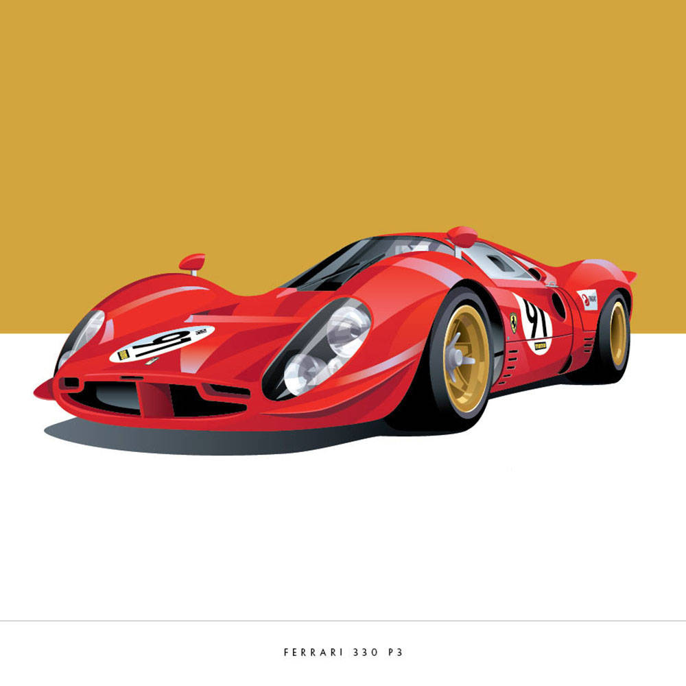 ferrari product aliens print art