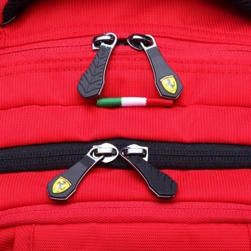 Red Travel Backpack - Ferrari