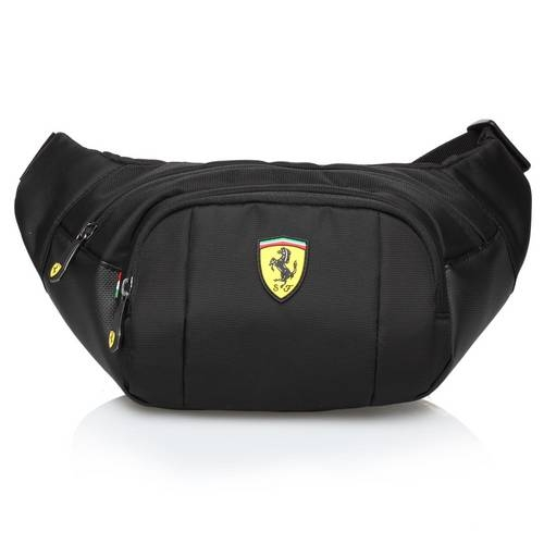 Black Waist Bag - Ferrari