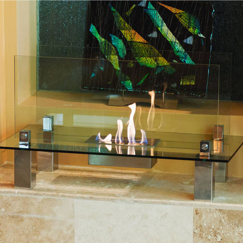 Fiero Fireplace - A Fireplace that is Both an Accent Piece