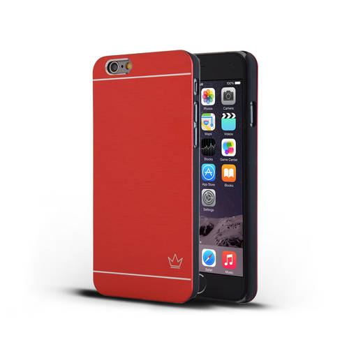 Slim Aluminum iPhone Case | Red | Krown