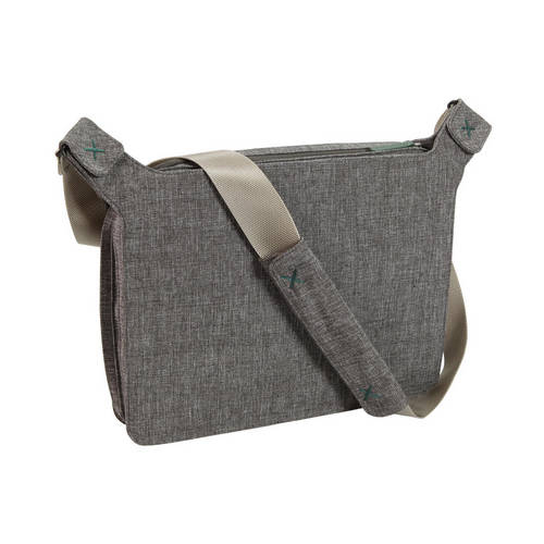 Laptop and iPad Messenger Bag - Designed to Expand Easily