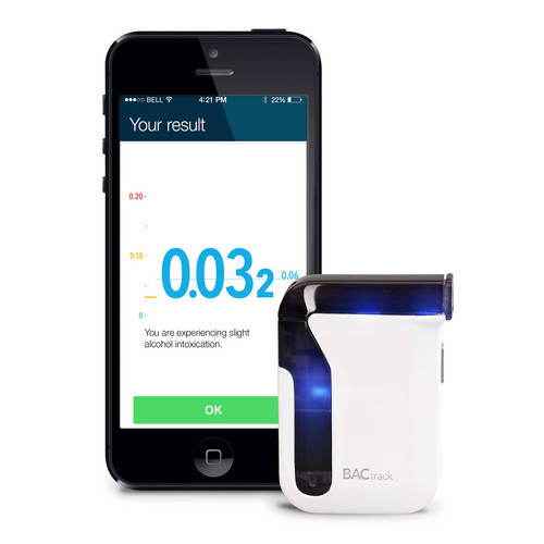 Mobile Pro Smartphone Breathalyzer - BACtrack
