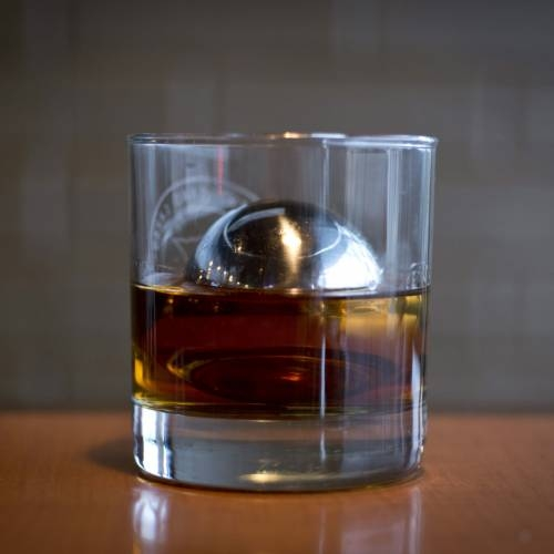 LoBall Whiskey Spheres | Large | Stainless Steel | SipDark