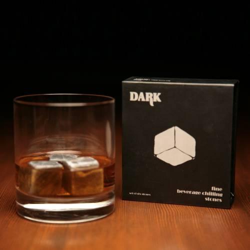 Whiskey Stones | Round Edged Soapstone Cubes | SipDark