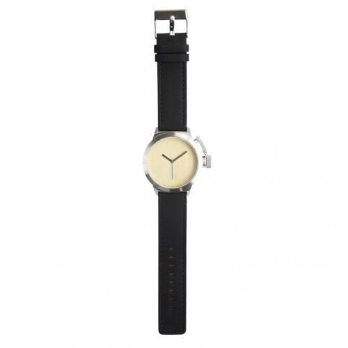 Seaval Watch, Maple/Black