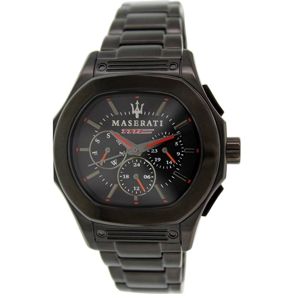 Fuoriclasse Black Analog Watch - Area Trend
