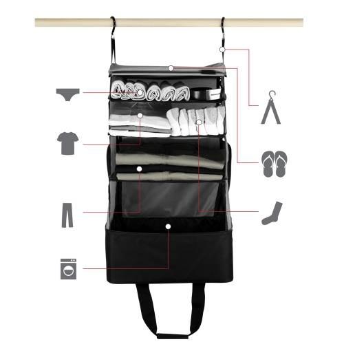 Jumper Carry-On Bag |  Black&Grey