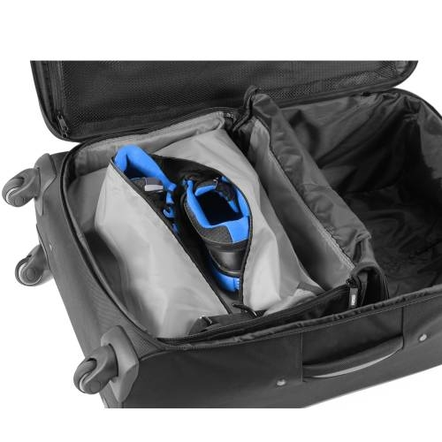 Jumper Carry-On Bag with Collapsible Shelves   GREY