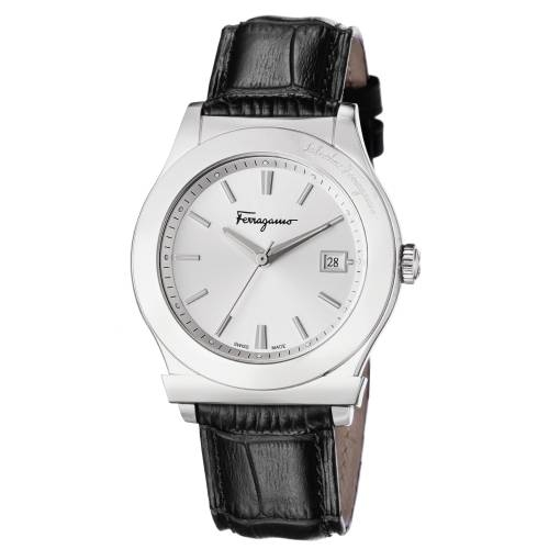 Ferragamo 1898 Men's Silver Watch