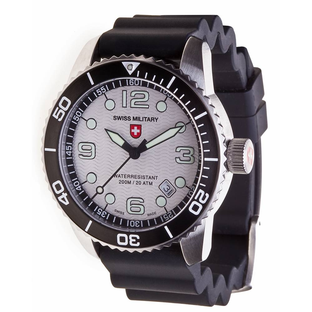Swiss Military Watches - MARLIN SCUBA, Silver