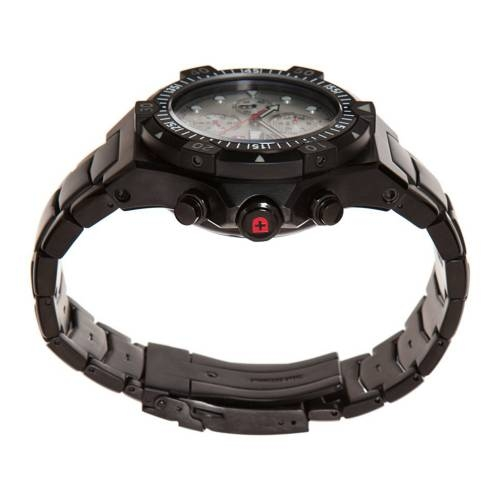 Swiss Military Watches - CONGER NERO AUTO, Silver