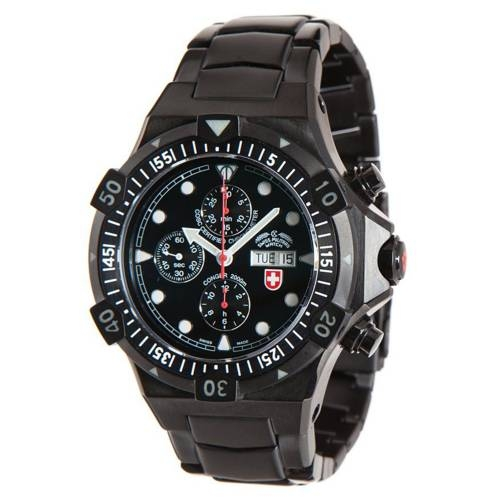 Swiss Military Watches - CONGER NERO AUTO, Black
