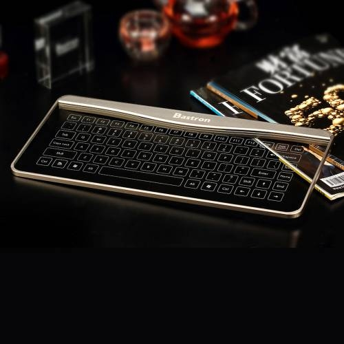 Glass Touch Smart Keyboard  B6 | Bastron