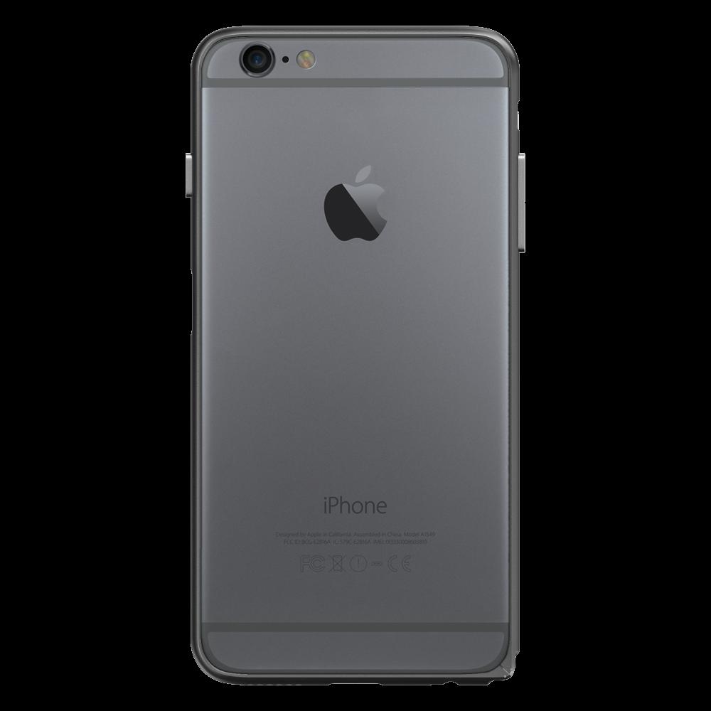 Slim Aerospace Aluminum Bumper for iPhone 6s Plus, Black