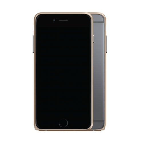 Slim Aerospace Aluminum Bumper for iPhone 6s Plus, Champagne