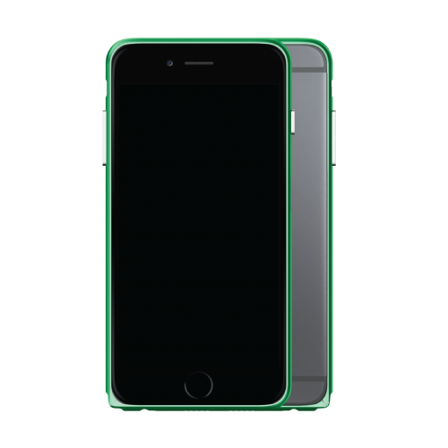 Slim Aerospace Aluminum Bumper for iPhone 6s Plus, Green