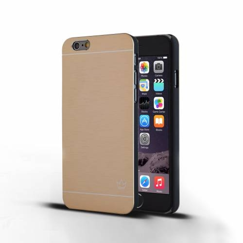 Slim Aluminum iPhone 6 Case | Gold