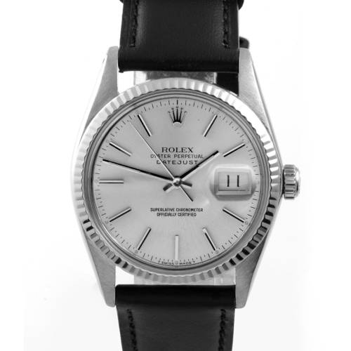 Rolex Men's Stainless Steel Datejust Watch