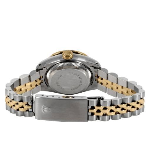 Rolex Ladies Two Tone Datejust Watch