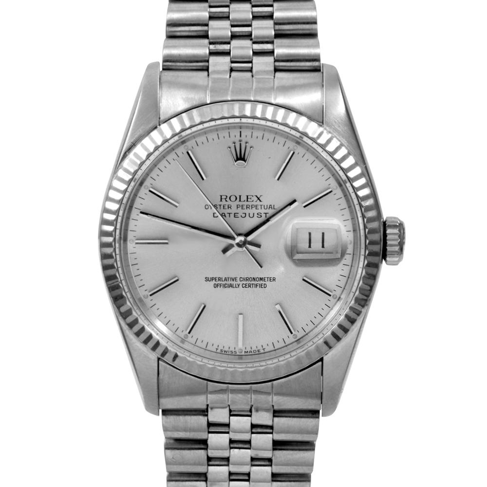 Rolex Men's Stainless Steel Datejust Watch