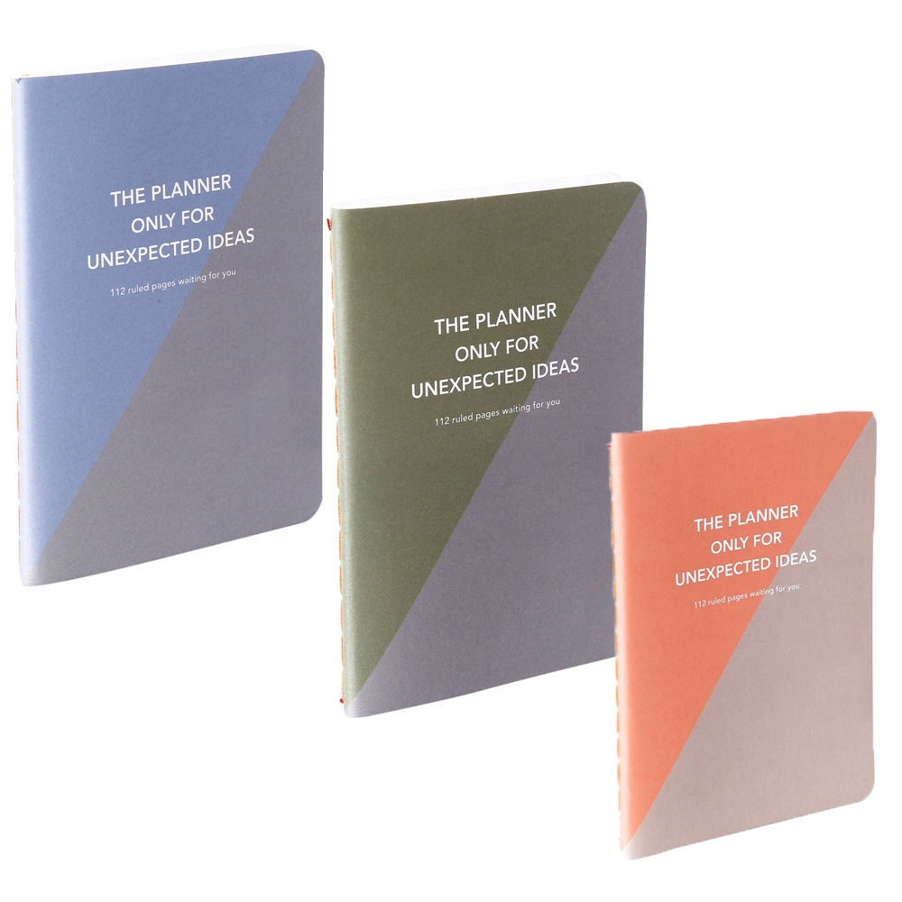 The Planner A5 for Unexpected Ideas Set of 3