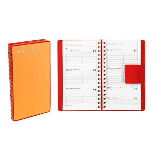 Weekly Diary, Orange