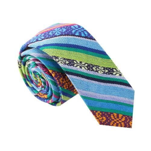 'No Way Jose' Tribal Print Tie